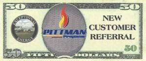 Pittman 50 Dollar Referral Coupon 2